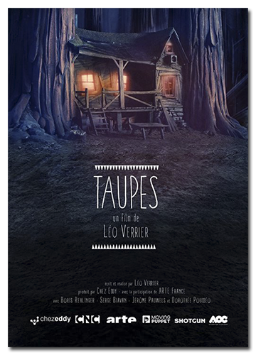Кроты / Taupes / Seven Red Hoods (Лео Веррье / Leo Verrier) [2015, приключенческий, комедия, анимация, короткий метр, HDTV 1080i] Original (Fre) + Sub (Rus)