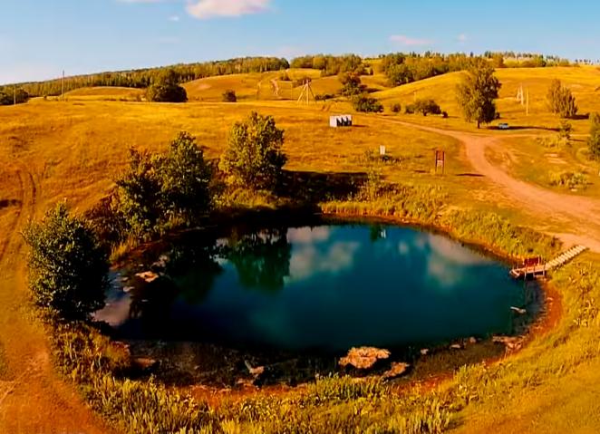 Голубое озеро - Самарская область