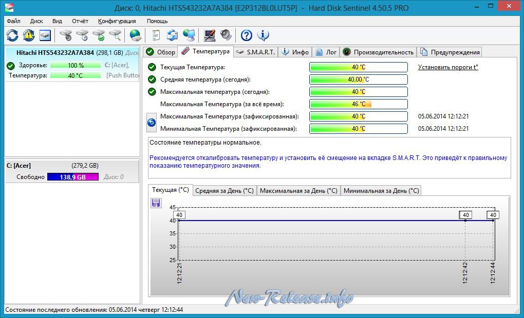 Hard Disk Sentinel PRO 4.71.10.8128
