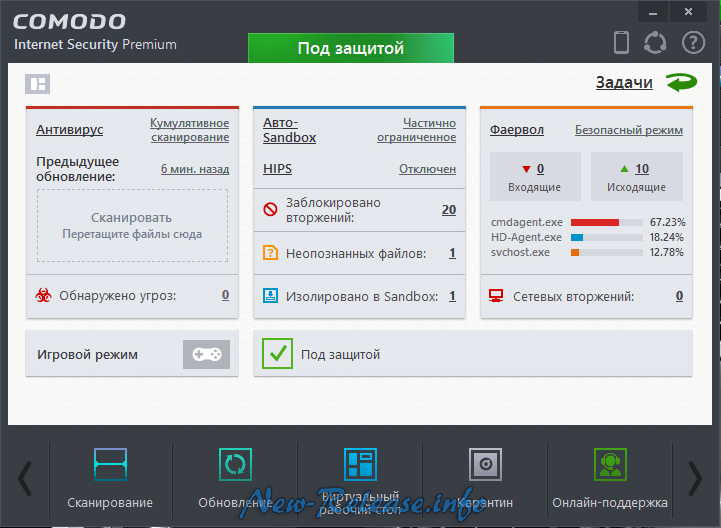 Comodo Internet Security Premium 8.4.0.5165 Final