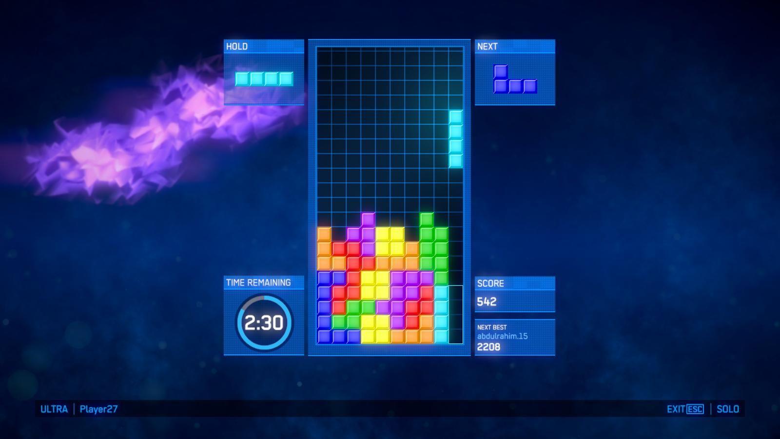 Второй скриншот Tetris: Ultimate для ПК