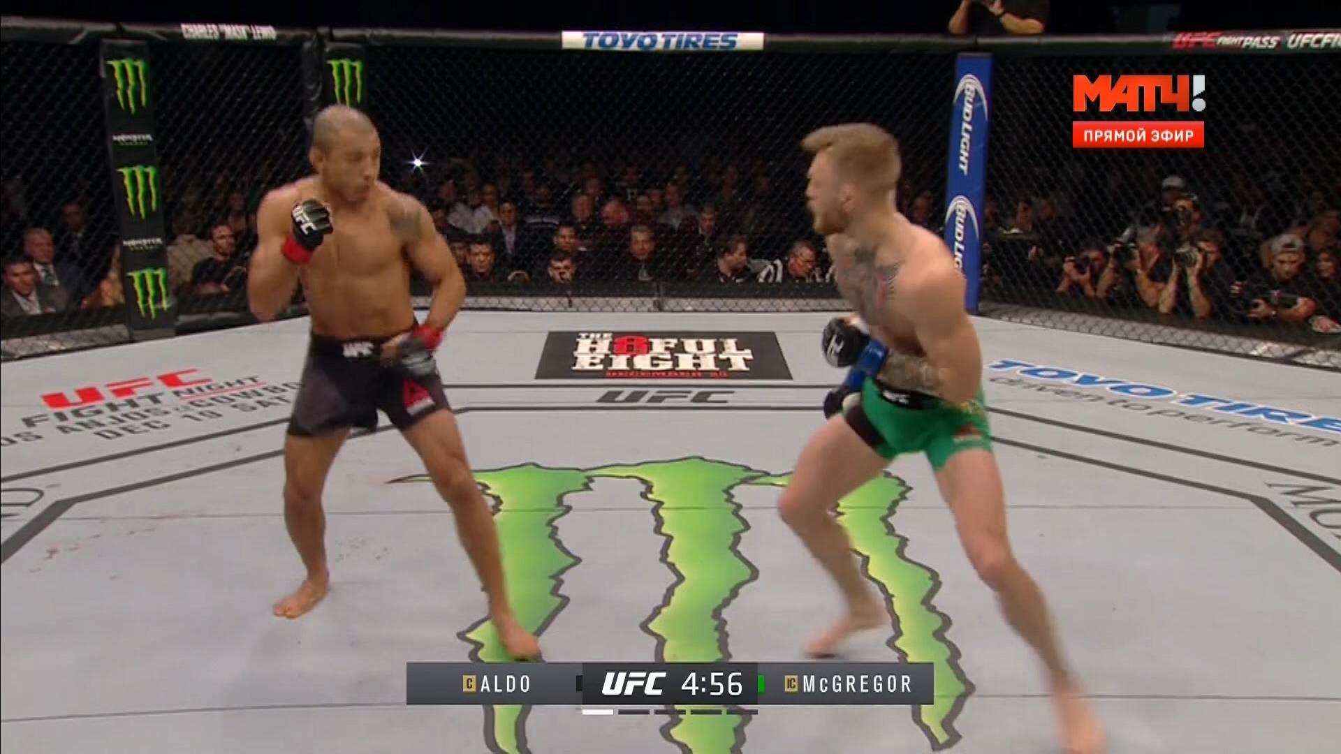 MMA. UFC 194. Альдо - МакГрегор + Андеркарт [12.12] | HDTV 1080i
