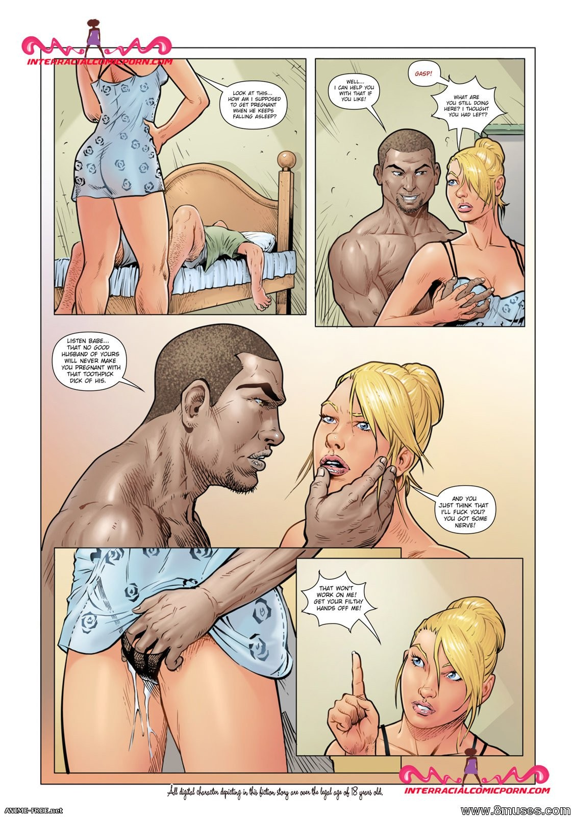 Коллекция комиксов от InterracialComicPorn [Uncen] [RUS,ENG] Porn Comics