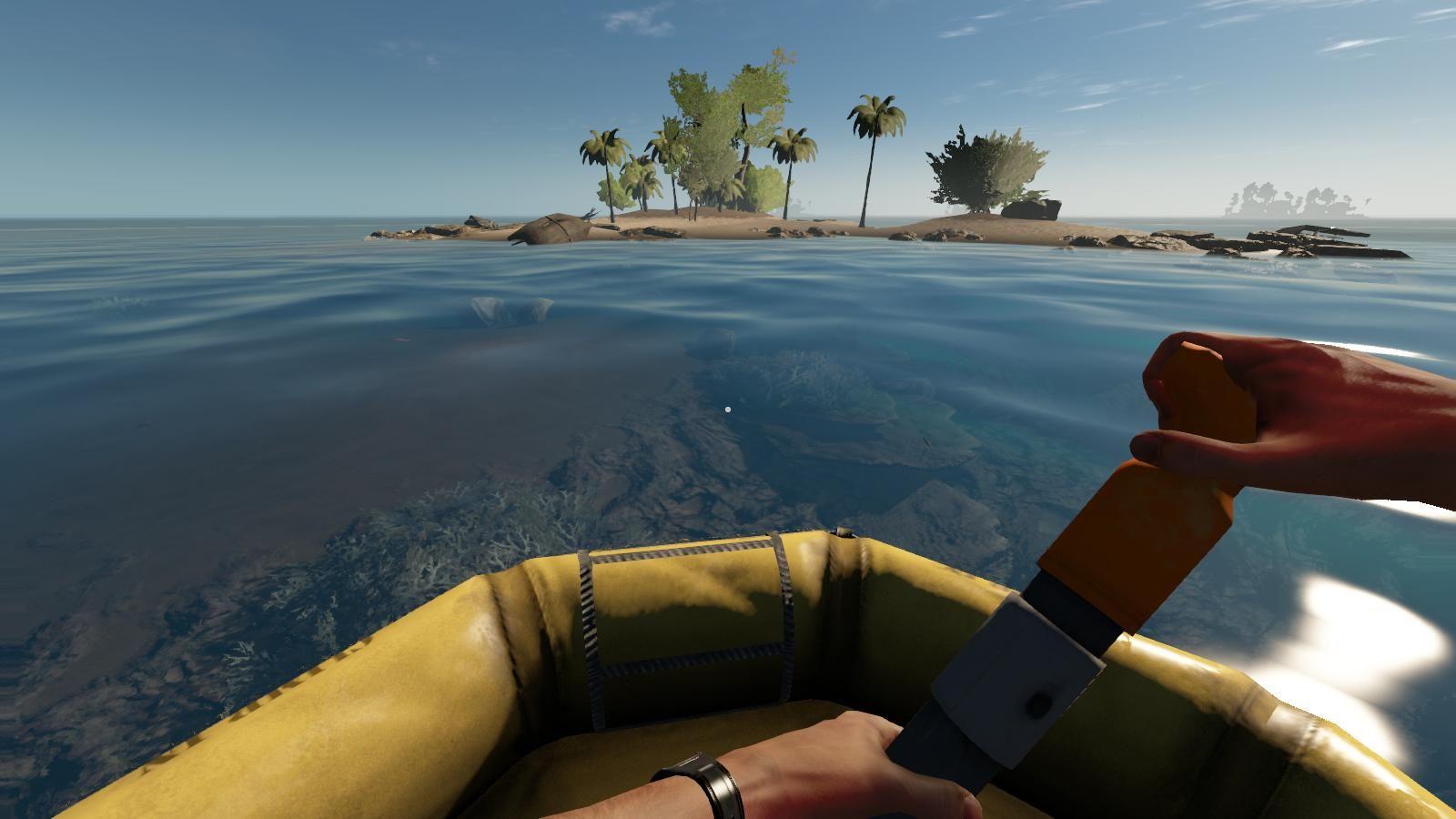 Как сделать лодку в stranded 791