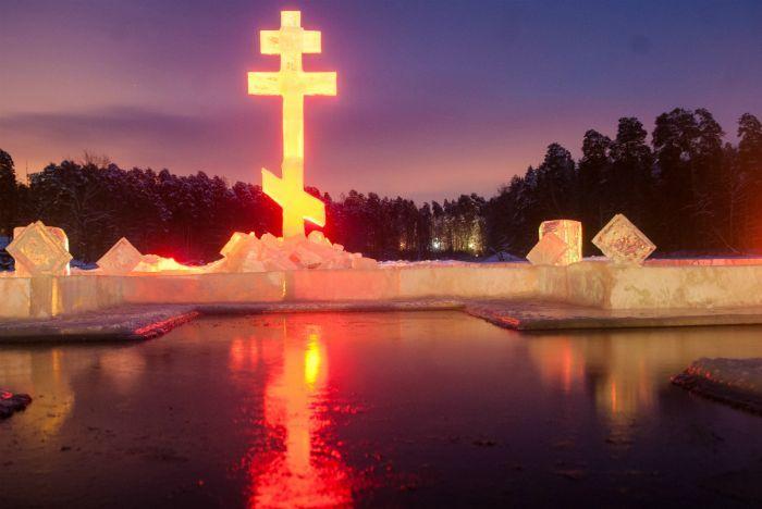 В Раифском Богородицком мужском монастыре прошли праздничные мероприятия в честь праздника Крещения Господня, или Богоявления.