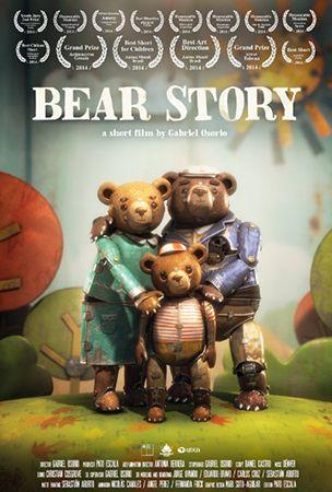 Медвежья история / Bear story / Historia de un oso (Габриель Осорио Варгас / Gabriel Osorio Vargas) [2014, Чили, короткометражный анимационный фильм, WEBRip-AVC]