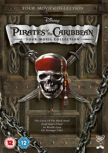 Pirates Of The Caribbean Movie Pack (2003 to 2011) 1080p BRRip x264 AAC-ETRG