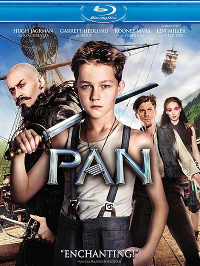 Пэн: Путешествие в Нетландию / Pan (2015) (BDRip 720p) 60 fps