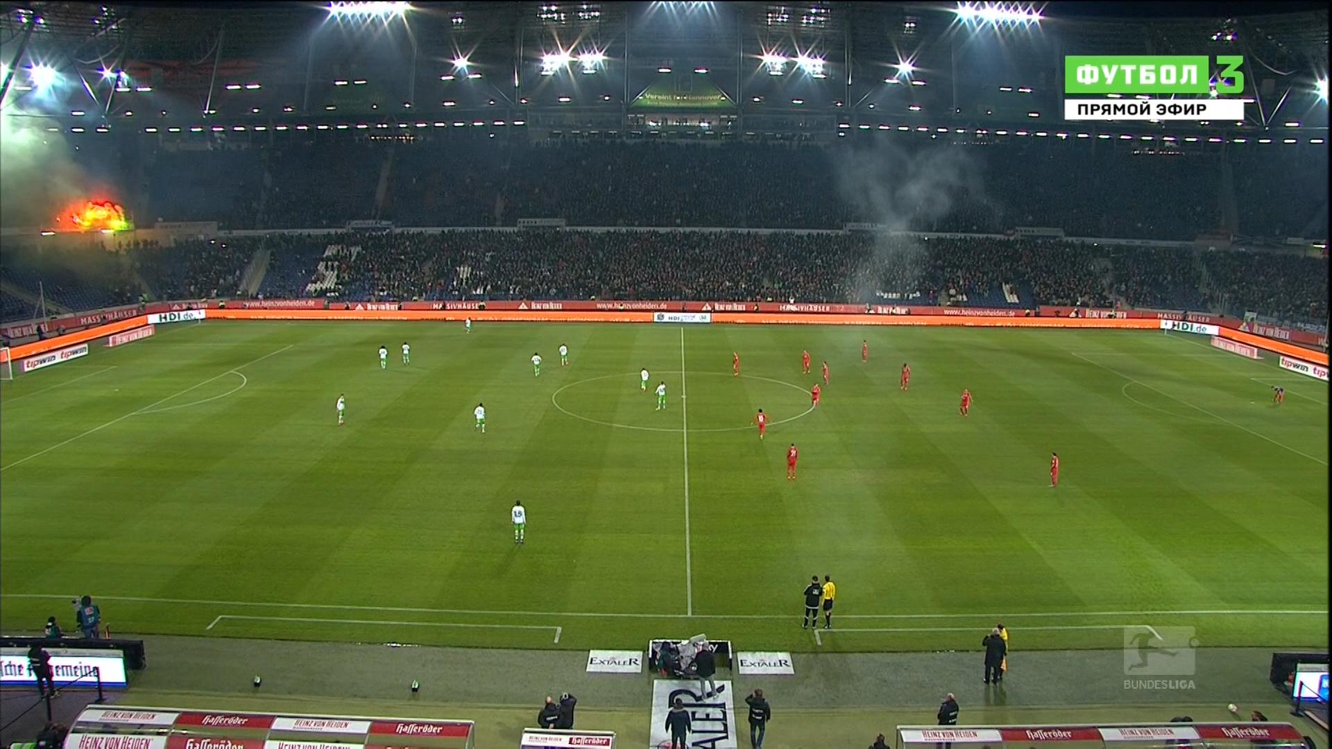 Чемпионат Германии по футболу на Куличках.