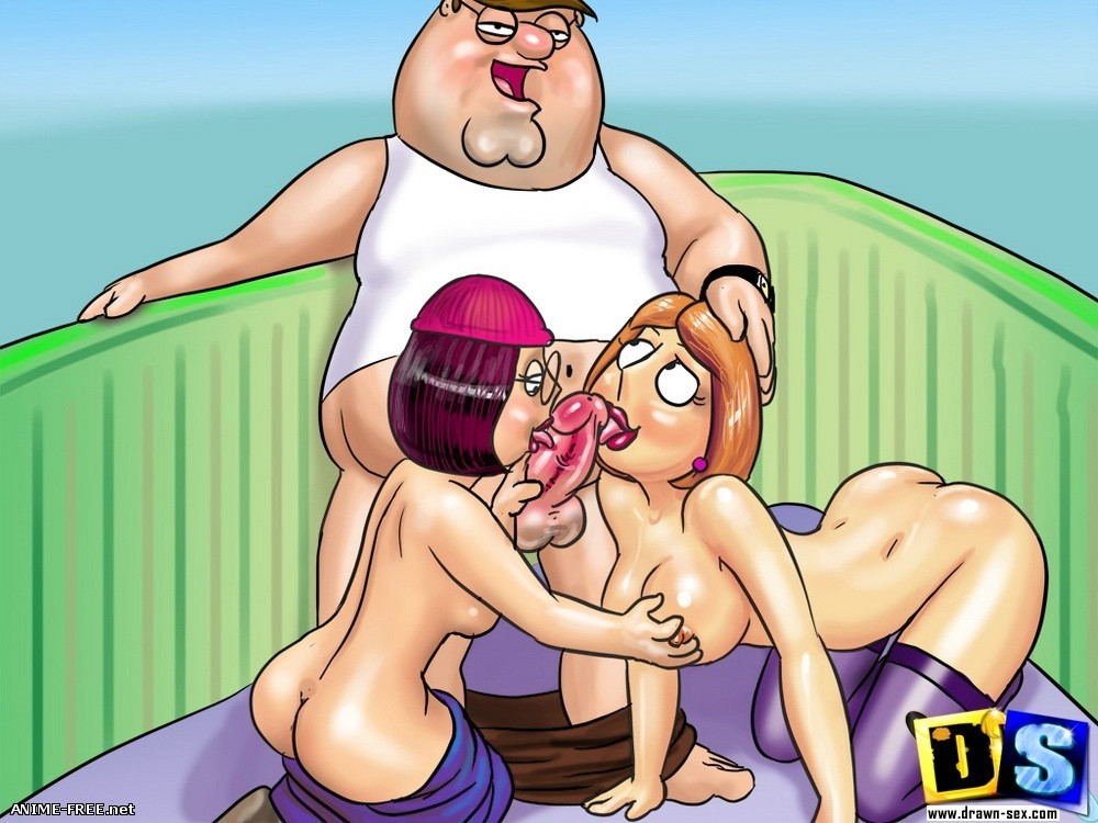 Гриффины / Family Guy [Uncen] [JPG] Hentai ART