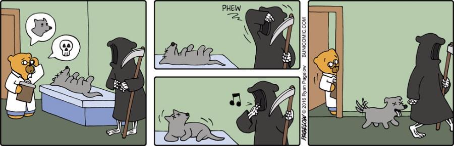 Мертвый песик