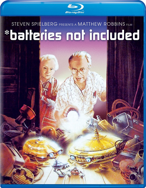 Батарейки не прилагаются / Батарейки в комплект не входят / *batteries not included (1987) BDRip 720p | P2, A | 9.66 GB