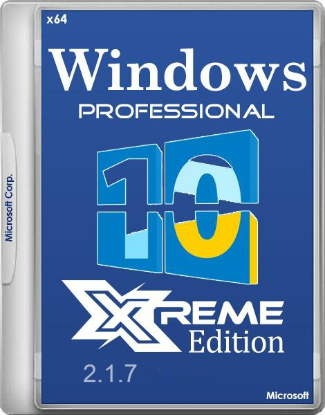Windows 10 eXtreme Edition 2.1.7 by C400's (RUS) (x64)