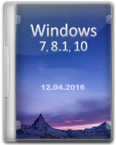 Windows 7-8.1-10 x86-x64 (12.04.2016) MABr24 [Ru]