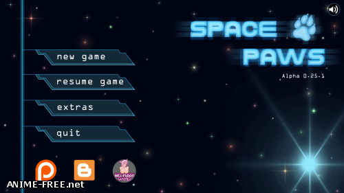 Space Paws / Космические лапы [2018] [Uncen] [SLG, ADV, Flash] [ENG] H-Game