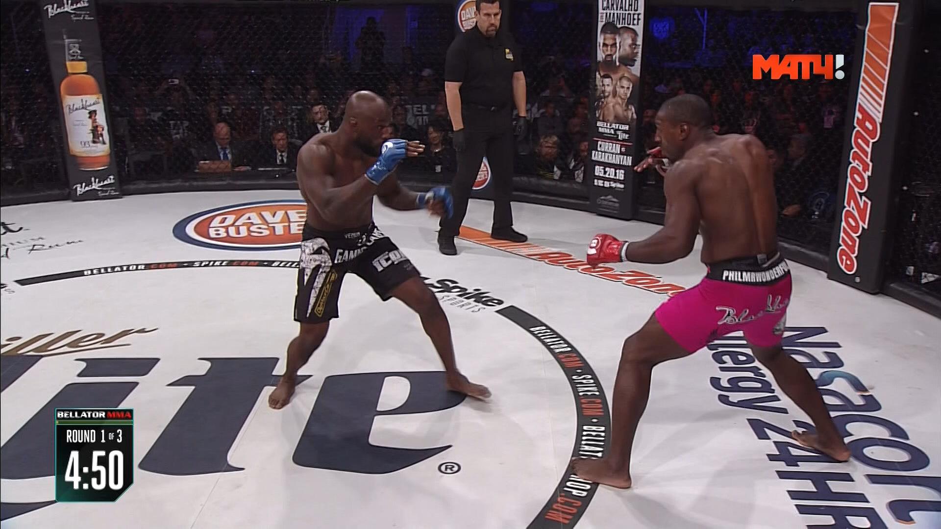 Смешанные единоборства - MMA. Bellator 154: Davis vs. King Mo + Main card (2016) HDTV 1080i | МатчТВ