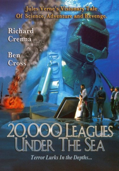 Наутилус / 20000 лье под водой / 20,000 Leagues Under the Sea (Майкл Андерсон / Michael Anderson) [1997, США, Фантастика, приключения,DVDRip] AVO (Андрей Гаврилов)