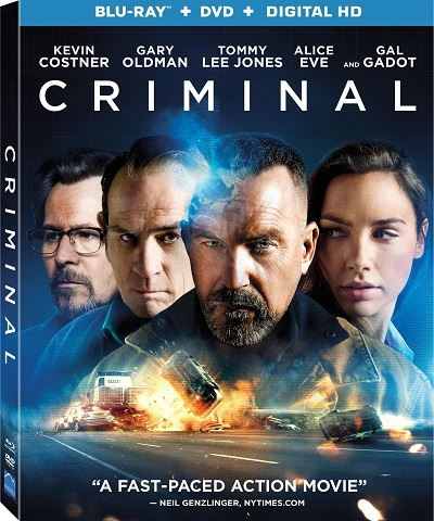 Преступник / Criminal (2016) BDRip 1080p | D, А | Лицензия