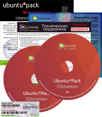 Ubuntu*Pack 16.04 Cinnamon [i386 + amd64] [июль] (2016) PC