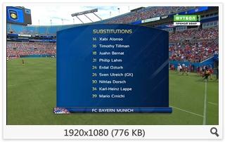 Футбол. Международный Кубок Чемпионов 2016 Интер - Бавария [Футбол 1 HD] [30.07] (2016) HDTV 1080i