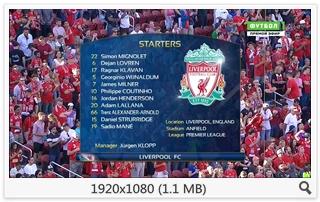Футбол. Международный Кубок Чемпионов 2016 Ливерпуль - Милан [Футбол 1 HD] [30.07] (2016) HDTV 1080i