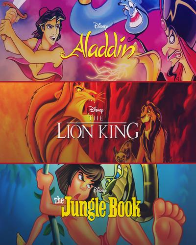 Disneys 16-bit Classics: Aladdin + The Lion King + The Jungle Book [GOG] [ENG]