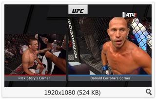 MMA. UFC 202. Nate Diaz vs Conor McGregor 2 [20.08] (2016) HDTV 1080i (RU/INT)