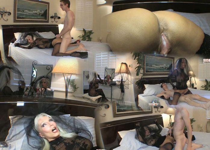 Sally D'Angelo - The Funeral - Please Fill Mommy With Your Cum / Похороны - Пожалуйста, Наполни Мамочку Своей Спермой [2015 г., Incest, Mature, Creampie, HDRip, 1080p]