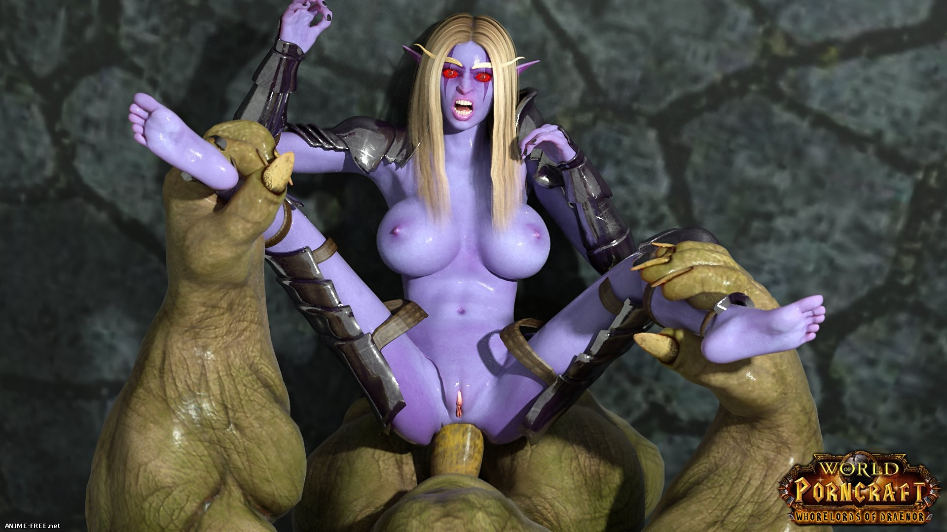 World of Porncraft - Whorelords of Draenor [2016] [Uncen] [RPG, Animation, 3DCG] [ENG] H-Game