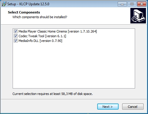 K-Lite Codec Pack 12.5.0 Mega/Full/Standard/Basic (2016) PC