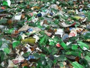 Рациональный способ утилизации стеклянных отходов