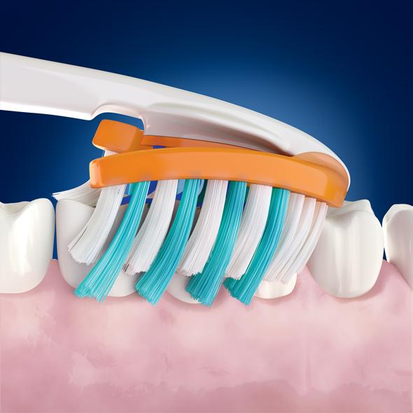 Очистка зубных щеток