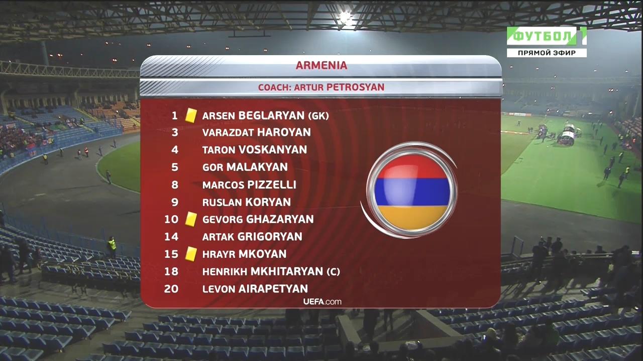 чемпионата мира 2018 армения таблица