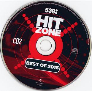 538 Hitzone - Best Of 2016 [2CD] (2016)