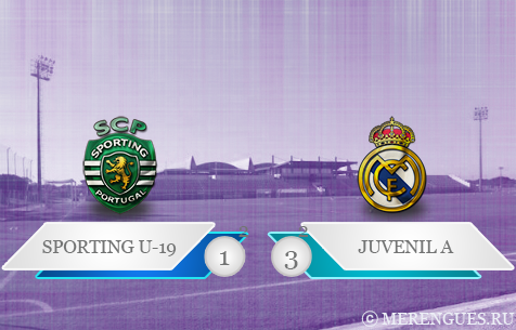 Sporting CP U-19 - Real Madrid Juvenil A 1:3