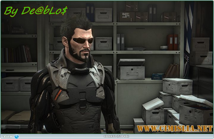Deus Ex: Mankind Divided - Digital Deluxe Edition [RePack] [2016 / MULTi / ENG / RUS]
