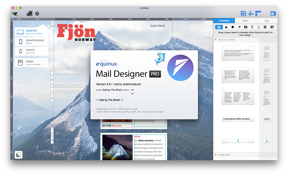 Mail designer pro 3 v3 2 1 2016 eng soft for Mail designer pro templates