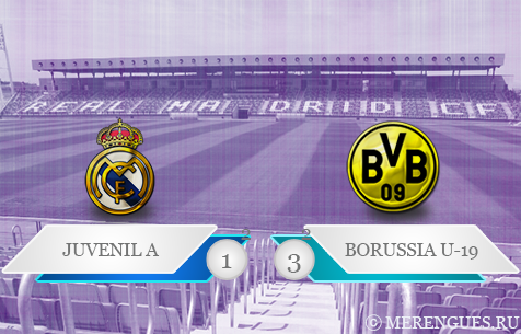 Real Madrid Juvenil - BV Borussia Dortmund U-19 1:3