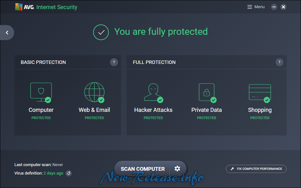 AVG Internet Security 2017 17.1.3004