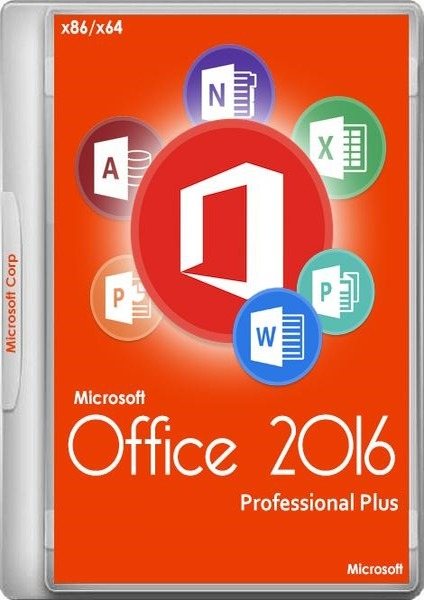 Microsoft Office 2016 Professional Plus + Visio Pro + Project Pro 16.0.4456.1003 (x86/x64 ISO) RePack by KpoJIuK