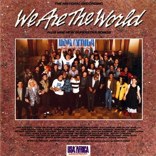 VA -  USA for Africa - We are the World (1985) [MP3 320 Kbps] <Pop-rock>