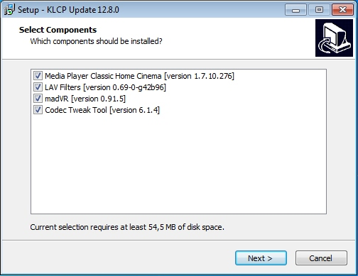 K-Lite Codec Pack 12.8.0 Mega/Full/Standard/Basic + Update (2016) Английский
