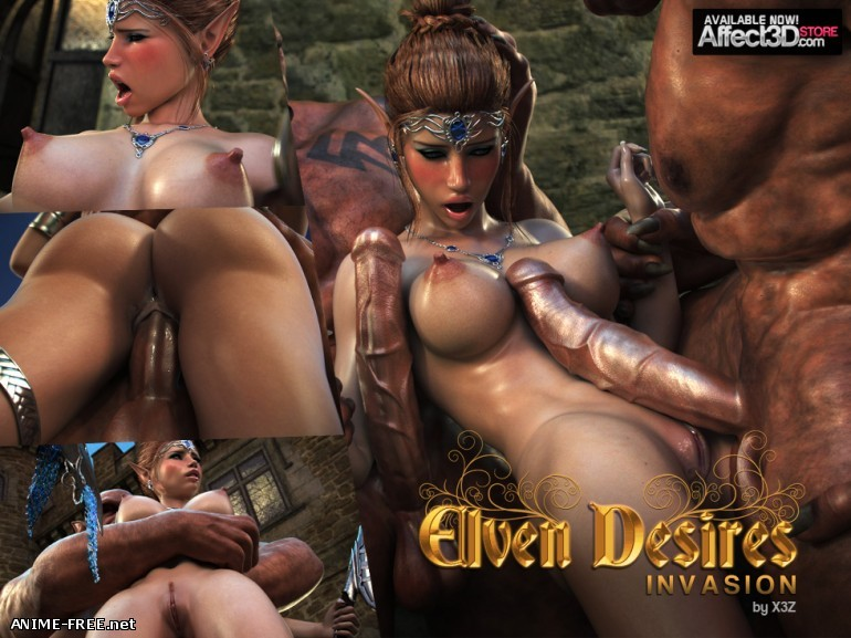 Elven Desire - Invasion - Tashas Timing [Uncen] [3DCG] [JPG] Hentai ART