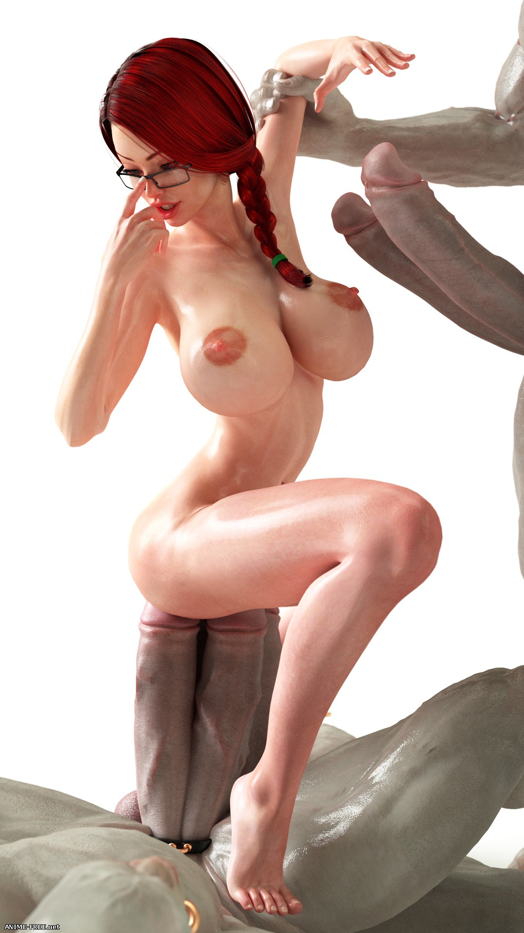 Smerinka Works (Collection) [Uncen] [3DCG] [GIF,PNG,JPG] Hentai ART