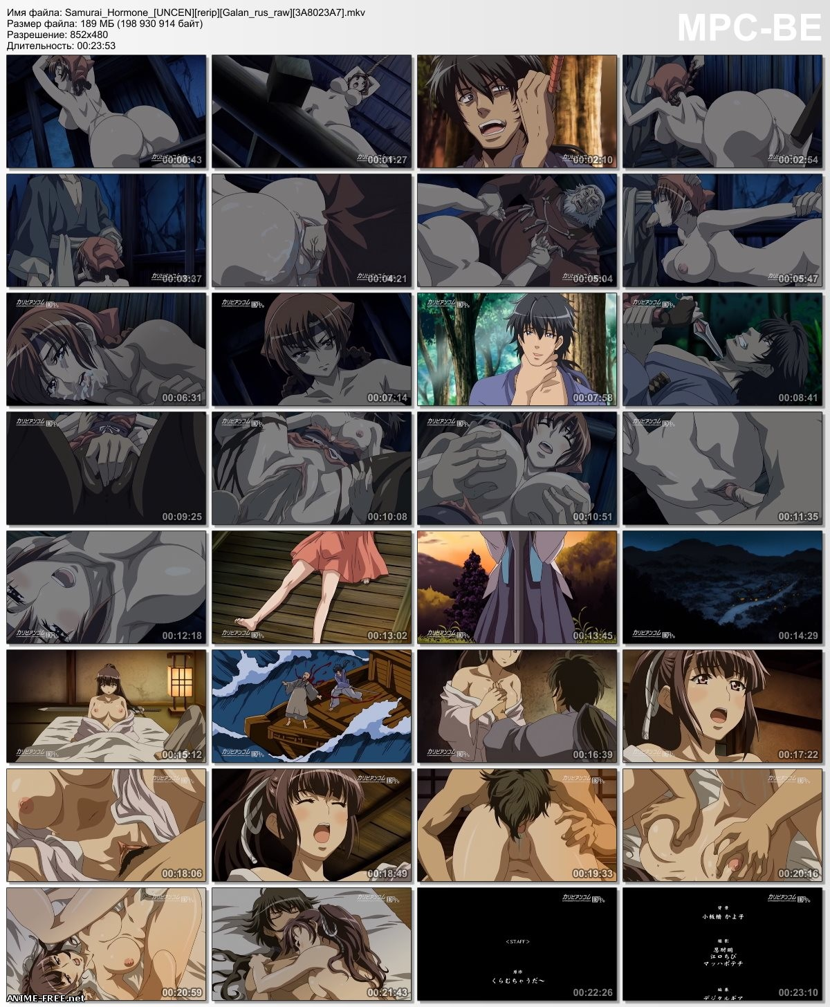 Samurai Hormone The Animation / Самурай Гормон [Ep.1] [RUS,ENG,JAP] Anime Hentai