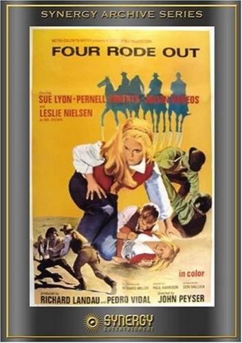 Четверо под одним небом / Four Rode Out (1970) DVDRip-AVC   A