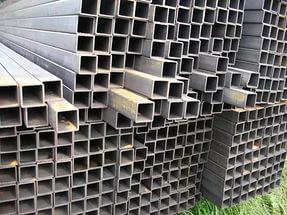 Профильные трубы в составе металлоконструкций