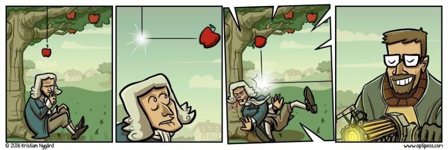 Ньютон и Фриман