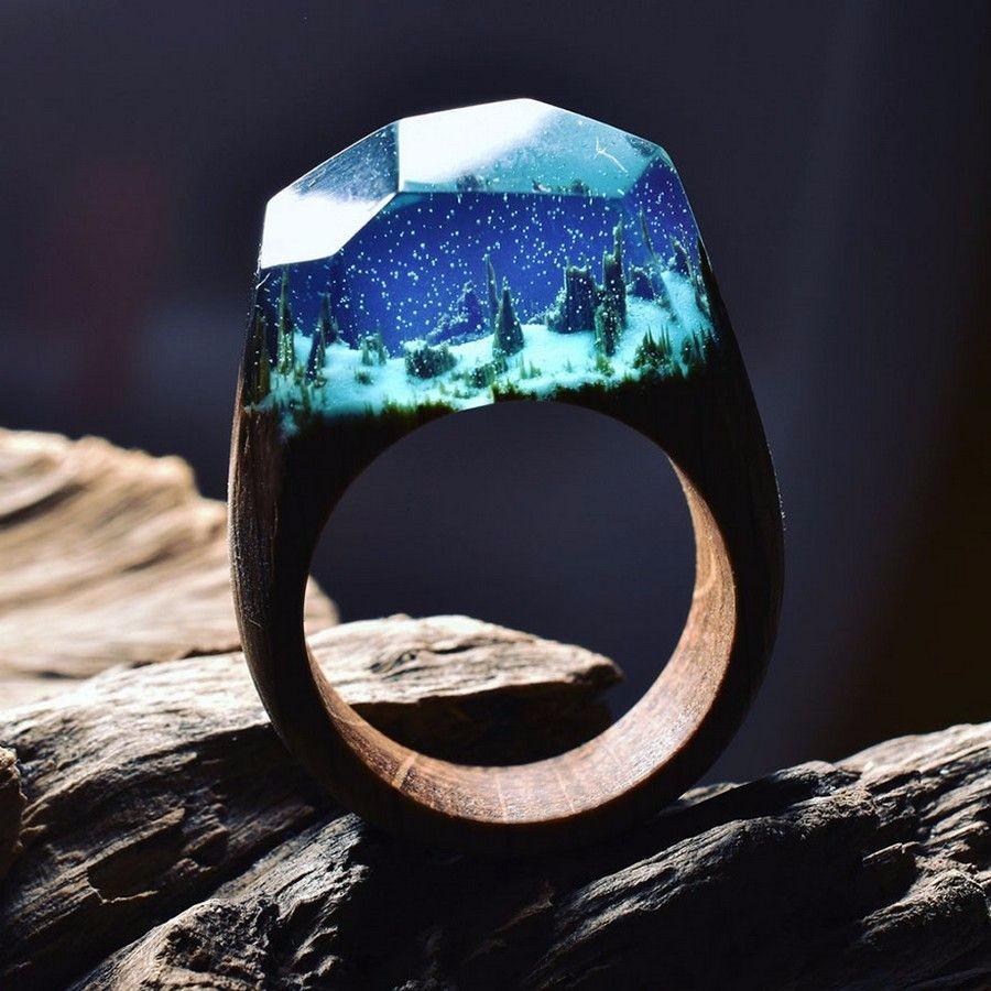 Пейзаж в кольце