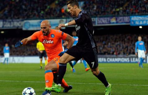 Роналду подверг критике действия партнеров по команде в обороне